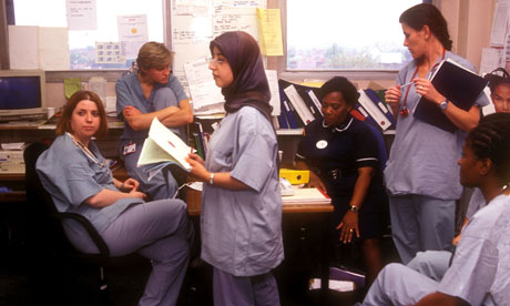 an exception may need to be made for nurses