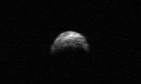 Asteroid Yu55
