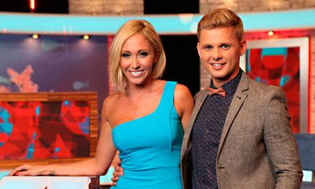 OK! TV presenters Jenny Frost and Jeff Brazier