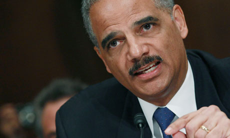 Attorney General Eric Holder was required by DOJ regulations to personally approve efforts to obtain phone records for AP journalists. Photograph: Mark Wilson/Getty Images