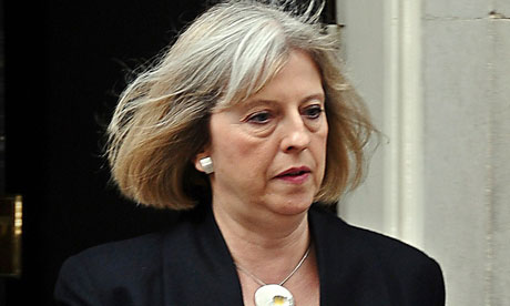 The home secretary, Theresa May, faces a Commons debate on the border control row