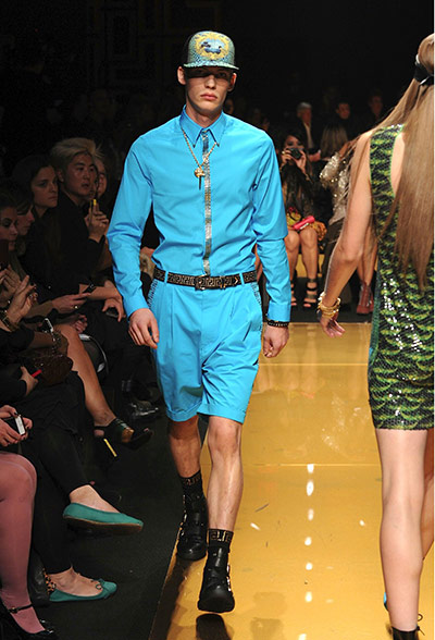 Versace for H&M: Versace for H&M, New york