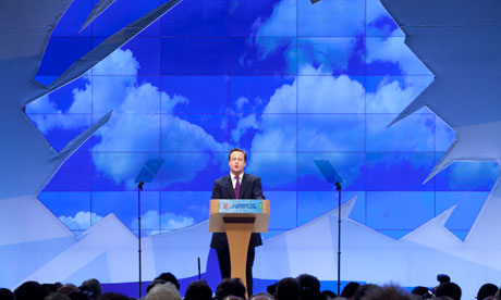 David Cameron conference 2011