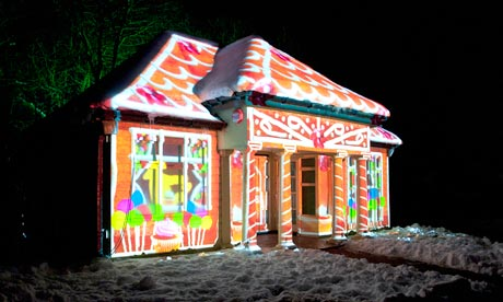 The Gingerbread House par 007 The Dog Powered Trike is an adult tricycle that you can strap your dogs into ...