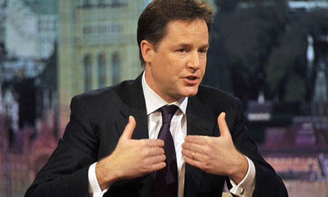 Nick Clegg on the Andrew Marr Show after UK's EU treaty veto
