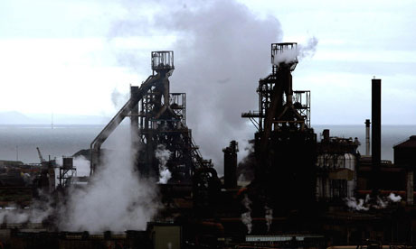 Tata steelworks, Port Talbot, south Wales