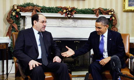 Barack Obama and Nouri al-Malaki