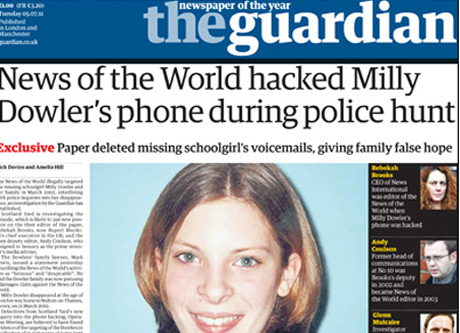 The Guardian's Milly Dowler story
