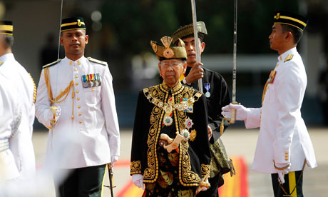 Malaysia's new king, Sultan Abdul Halim Mu'adzam Shah