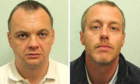 Gary Dobson (left) and David Norris are accused of the racist killing of Stephen Lawrence