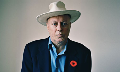 Christopher Hitchens photographed in November 2010 for the Observer New Review