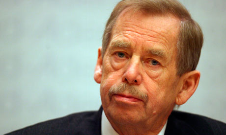 Vaclav Havel in 2007
