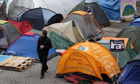 Occupy London camp