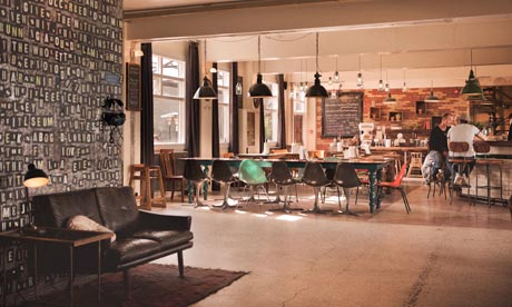 Head back into Reykjavik and have a drink at Kex Hostel