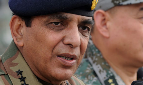 Pakistan's army chief General Ashfaq Kayani