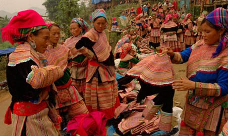 H'mong people, Bac Ha, Vietnam