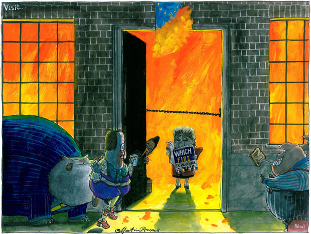 Martin Rowson cartoon, 03.12.2011