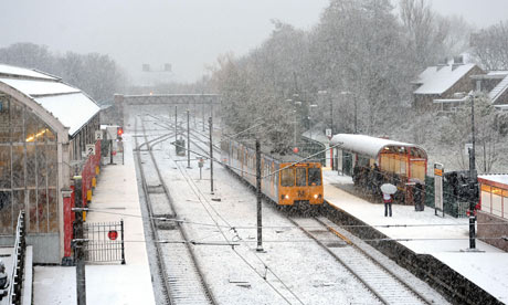 Train in North Tyneside