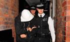 Police arrest riot suspect