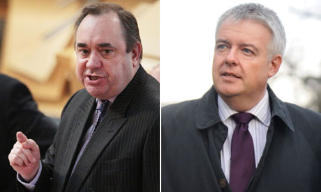 Alex Salmond and Carwyn Jones