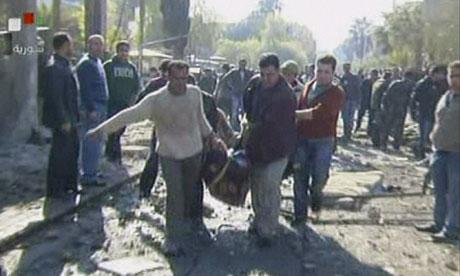 Damascus explosions, Syria