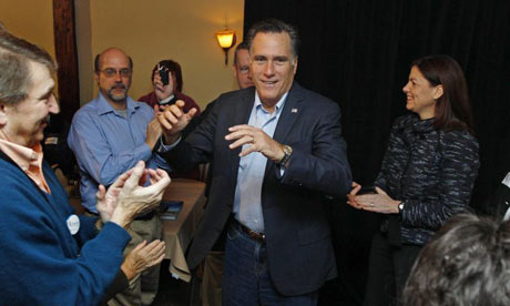 Campaign glamour: Mitt Romney in New Hampshire