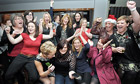 The Military Wives choir get confirmation that their single, Wherever You Are, is Christm