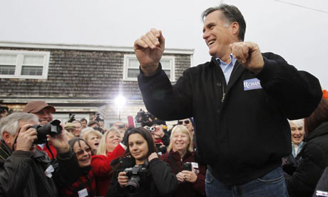 Mitt Romney dancing in New Hampshire