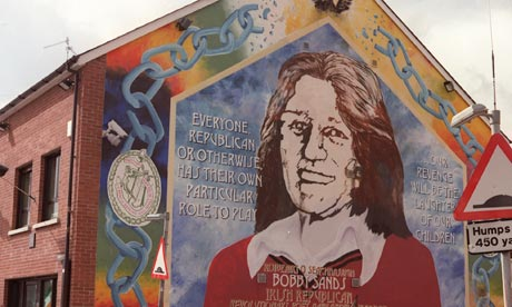 Thatcher cabinet 39 wobbled 39 over ira hunger strikers uk for Bobby sands mural