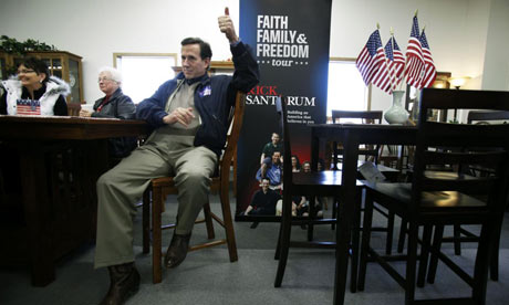 Rick Santorum in Iowa