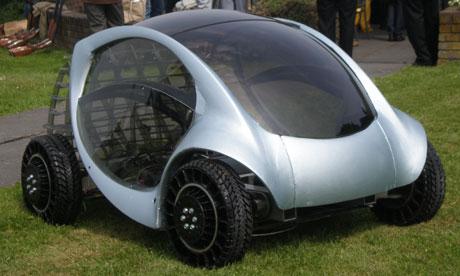 Hiriko electric car