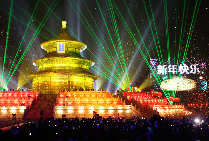 New Year Celebrations: China New Year 2012