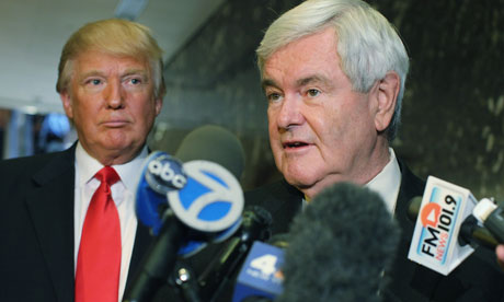 Newt Gingrich, Donald Trump