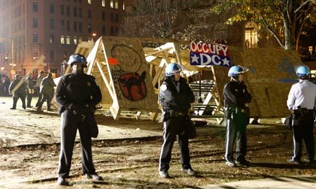 Occupy DC structure