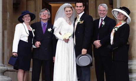 family wedding photograph