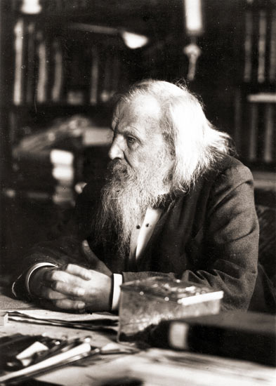Dmitri Mendeleev S Business Card And Ernest Rutherford S