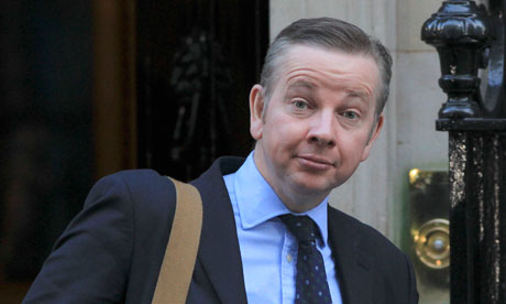Education Secretary Michael Gove leaves 10 Downing Street in central London