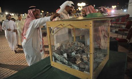 Saudi giving money Somalia aid