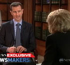 Bashar Al-Assad interviewed by Barbara Walters
