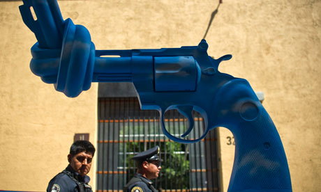 US guns used in Mexican drug cartels