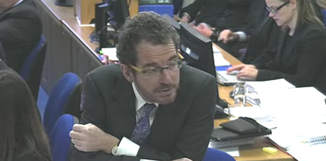 Robert Jay, QC, asking questions on behalf of Leveson inquiry