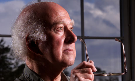 Peter Higgs, one of the theorists behind the Higgs field