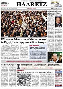 haaretz-front-page