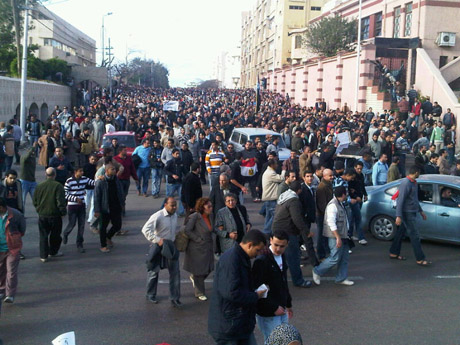 Alexandria crowds
