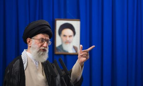 Egypt revolt has Iran in a spin Ayatollah-Ali-Khamenei-in-005