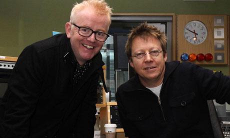 Chris Evans and Simon Mayo on Radio 2