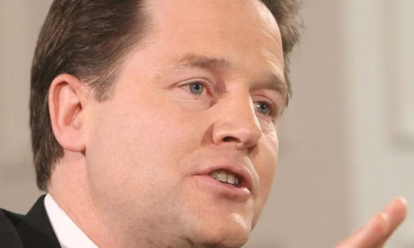 Nick Clegg described the letter from Lib Dem councillors as 'unhelpful'