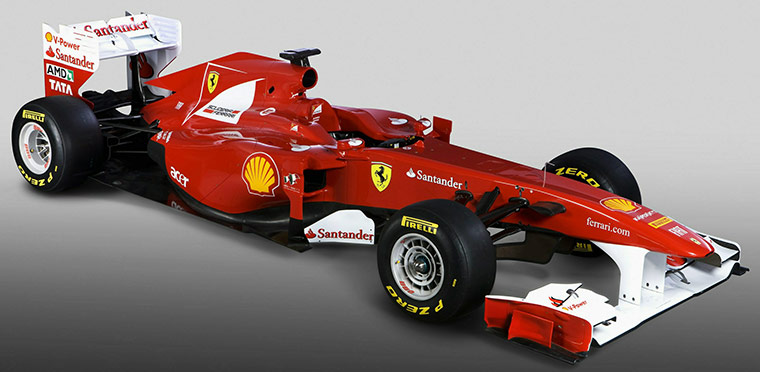 F1 Cars: Ferrari's 2011 F1 car - the F150. Ferrari F150th Italia