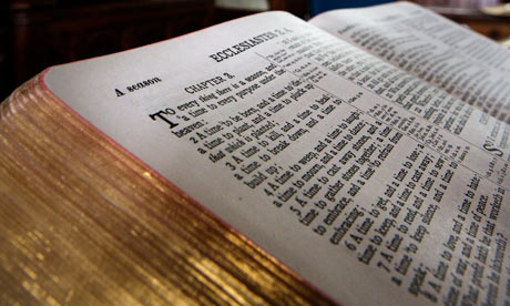 'The deification of the Bible is a result of the Protestant reformation.