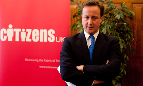 Cameron/Citizens UK/big society